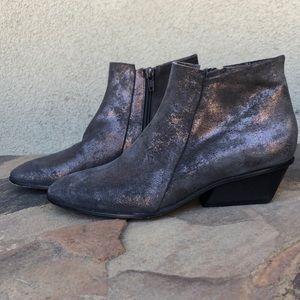 Coclico metallic bronze ankle boots